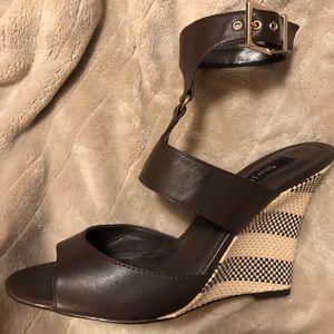 Chocolate/ White House Black Market sandals